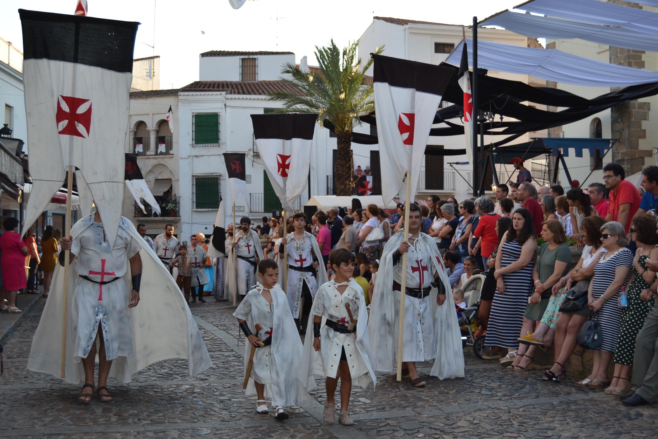 Comienza El Xv Festival Templario En Jerez De Los Caballeros Radio Hornachos