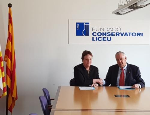 VILLAFRANCA – El Ayuntamiento de la localidad firma un convenio de colaboración con el Conservatori Liceu de Barcelona.
