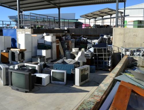 PROVINCIA – Promedio programa formación especializada para mejorar la gestión de residuos en puntos limpios.