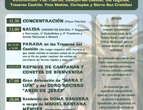 LOS SANTOS DE MAIMONA – El camino en honor a San Isidro marca el inicio de Mayo y anuncia la llegada de su esperada romería.