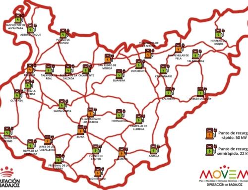 PROVINCIA – Badajoz será la primera provincia peninsular en contar con una Red Provincial Pública de Puntos de Recarga.