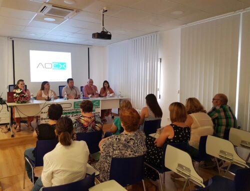 FUENTE DEL MAESTRE – Presentada la Delegación de Zafra y Comarca de la Asociación Oncológica Extremeña.