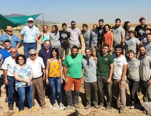 REGIÓN – La Junta de Extremadura organiza en Regina un Curso de Arqueología al que asisten una veintena de estudiantes