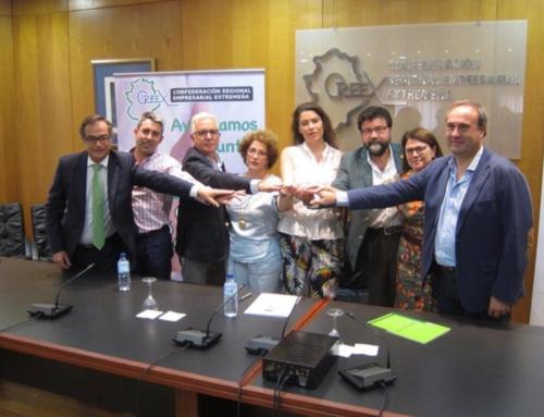 COOPERACIÓN – El Tercer Sector y la Creex invitan a las empresas extremeñas a marcar la 'X solidaria' en el Impuesto de Sociedades.