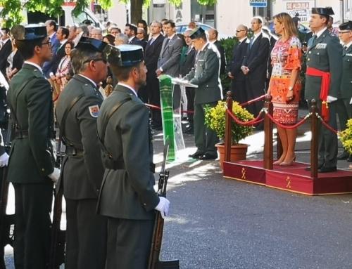 ORDEN PÚBLICO – La Guardia Civil celebra el Día de la Fiesta Nacional de España y el Día de su Patrona la Virgen del Pilar con diferentes actos