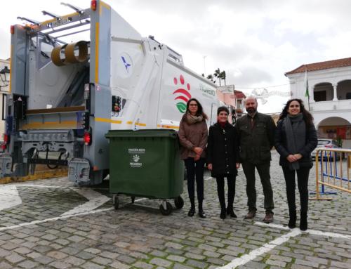 ACEUCHAL – Promedio incorpora nuevo camión recolector con control de pesaje para cubrir la localidad.