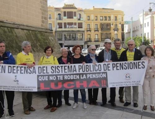 REGIÓN – Los pensionistas extremeños se manifiestan este lunes en Mérida para reclamar mejoras para el colectivo