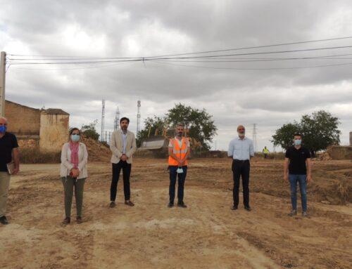 ZAFRA – Prosiguen las obras de adecuación y urbanización de los terrenos del nuevo Centro Comercial en Zafra