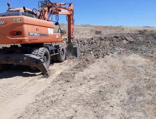 ZAFRA – El alcalde destaca que el camino del Matadero vertebrará el Polígono Agroganadero de la Dehesa Boyal.