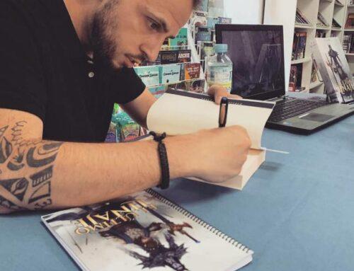 """CULTURA – El autor P.J.  Kaba presenta en Ribera del Fresno """"El último linaje""""."""