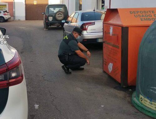 ORDEN PÚBLICO – La Guardia Civil de Santa Marta instruye diligencias a un vecino de Manchita por el robo de 10.000 litros de aceite.