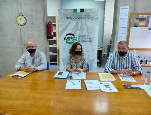 SEGURIDAD – Inaugurado el curso de la Academia de Seguridad Pública de Extremadura con el ingreso de 74 nuevos policías