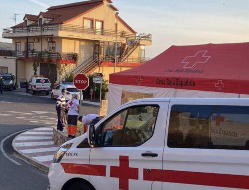 SOLIDARIDAD – Cruz Roja Extremadura apoya a las personas confinadas en distintos municipios de la región con un operativo especial