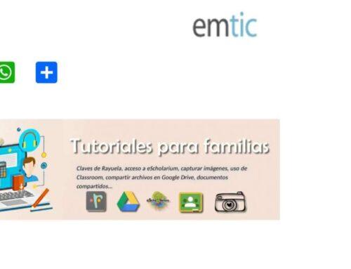 EDUCACIÓN – La Junta de Extremadura pone a disposición de familias y alumnado diez tutoriales para facilitar la enseñanza digital