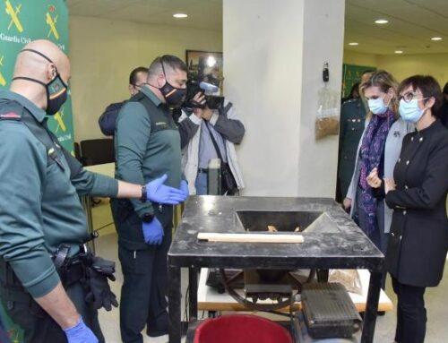 ORDEN PÚBLICO – Incautadas 53 toneladas de hojas de tabaco ocultas en una nave para su posterior venta ilegal