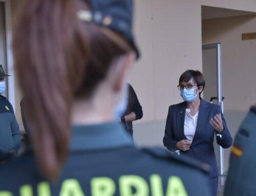 SEGURIDAD – La Directora General se reúne con los responsables de la Guardia Civil en Extremadura