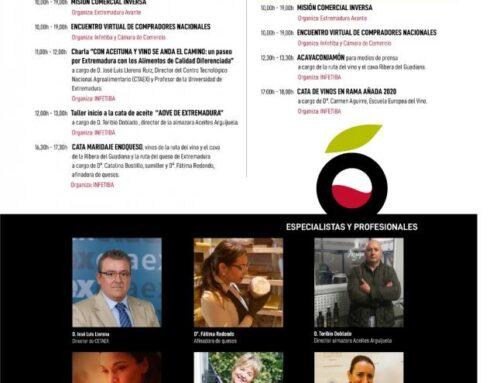"""ALMENDRALEJO- """"IBEROVINAC virtual"""" cuenta con la participación de 50 expositores y 19 importadores."""