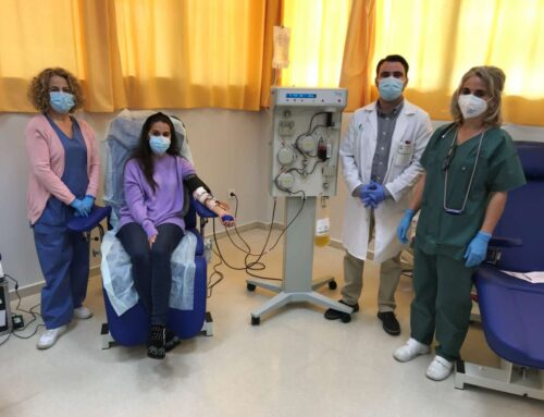 SANIDAD – El Banco de Sangre pone en marcha un equipo de aféresis para producir más plasma hiperinmune contra la covid-19