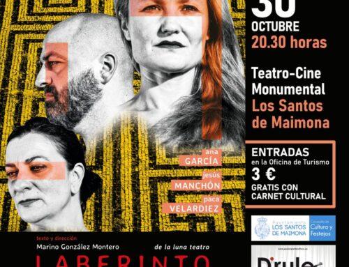 """LOS SANTOS DE MAIMONA – La obra """"Laberinto: Anatomía del Presente"""", llega este viernes al Monumental."""