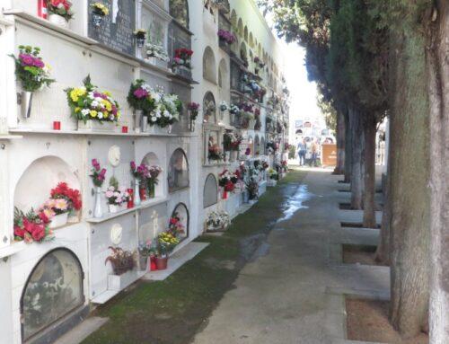 ZAFRA – El Ayuntamiento pone una serie de medidas en el cementerio para evitar aglomeraciones