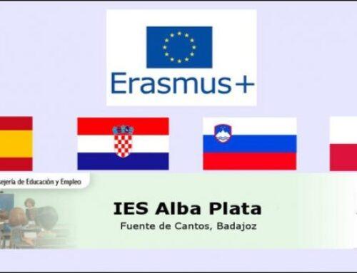 """FUENTE DE CANTOS – El I.E.S. Alba Plata presenta un proyecto subvencionado por el Programa """"Erasmus +"""""""