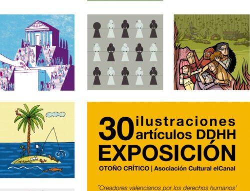 VILLAFRANCA DE LOS BARROS – La Casa de la Cultura acoge la exposición de Creadores valencianos por los derechos humanos. 70 años de la Declaración Universal de los Derechos Humanos',