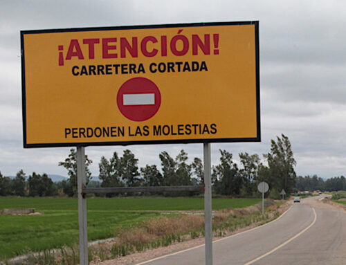 SERVICIO PÚBLICO – Corte en la Carretera Provincial BA-155, de Villalba de los Barros a Salvatierra de los Barros