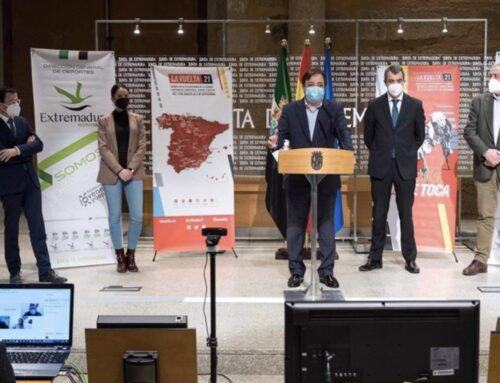 "DEPORTES – Extremadura recibirá 3 etapas de la Vuelta Ciclista a España 2021 como ""enorme inyección de ilusión"" e impulso turístico"