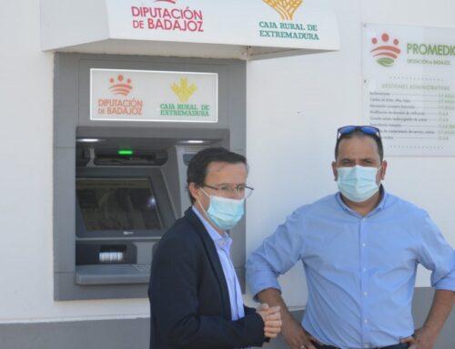 PROVINCIA – Los cajeros automáticos instalados en los pueblos sin entidad bancaria han movido ya 5, 6 millones de euros en operaciones