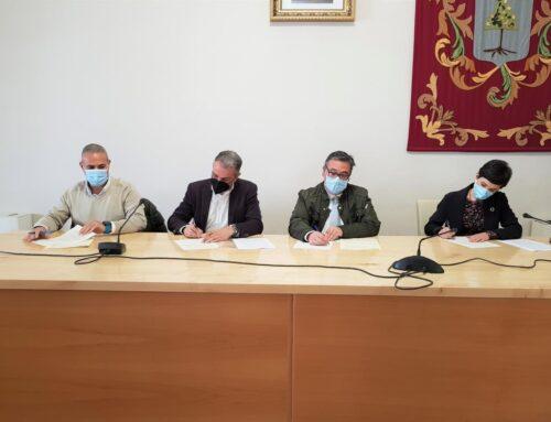 ALMENDRALEJO – PSOE, PP y Ciudadanos firman un acuerdo para aprobar los Presupuestos 2021