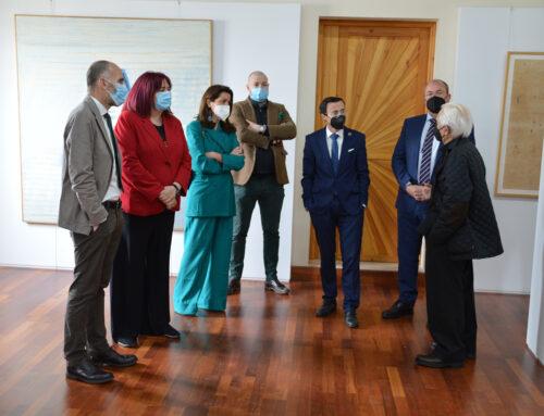 PROVINCIA – El Presidente de la Diputación Provincial acompañado por la alcaldesa de Fregenal de la Sierra inauguran el Museo de Arte Contemporáneo
