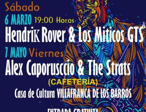 """VILLAFRANCA DE LOS BARROS – De nuevo se pone en marcha el ciclo """"Culturblues"""", este próximo sabado 6 de Marzo"""