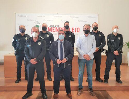 ALMENDRALEJO – Tres nuevos agentes se incorporan a la plantilla de la Policía Local