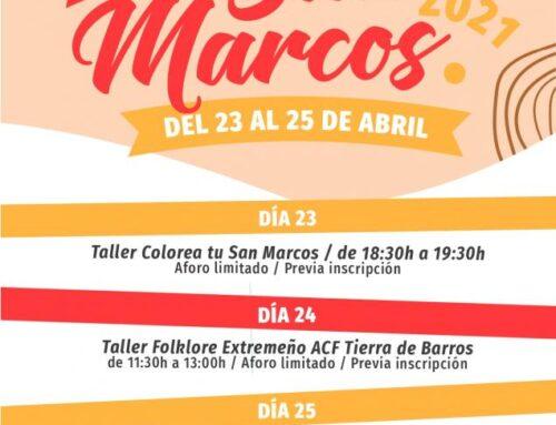 ALMENDRALEJO – San Marcos se celebrará con talleres infantiles y la eucaristía el 25 de abril en el atrio de la Piedad