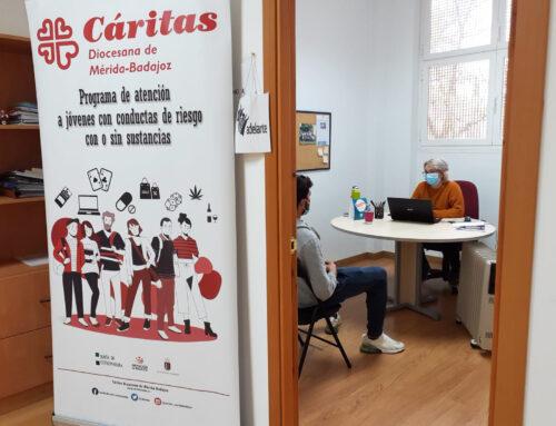 SOCIEDAD – Cáritas Diocesana de Mérida-Badajoz pone en marcha un Programa de atención a menores con conductas adictivas y a sus familias.