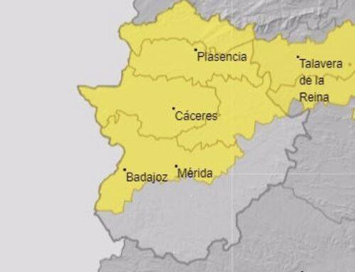 ALERTA METEOROLOGICA – La provincia de Cáceres y las Vegas del Guadiana estarán en riesgo por lluvias y tormentas este sábado