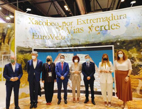 FITUR – La Diputación de Badajoz lidera el proyecto transfronterizo de Caminos Jacobeos del Oeste Peninsular