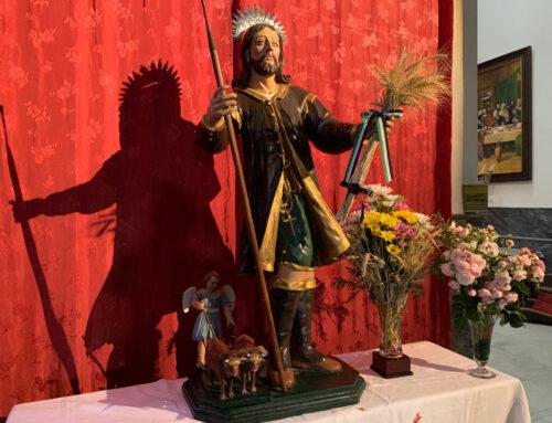 LOS SANTOS DE MAIMONA – La imagen de San Isidro vuelve este año a la Parroquia para conmemorar su fiesta.