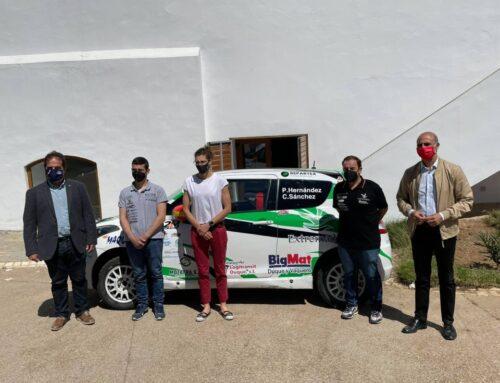 ZAFRA – La ciudad coge la presentación del equipo Extremadura Rallye Team para la temporada 2021