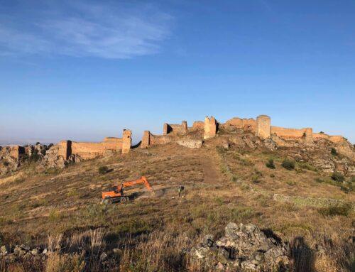 HORNACHOS – Abierto al público un nuevo acceso al Castillo