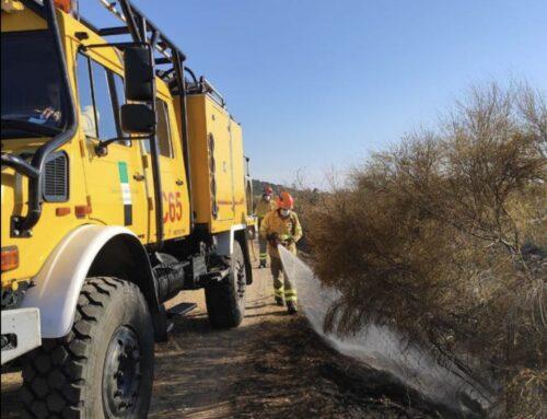 TERRITORIO – El Infoex participa durante esta semana en 12 incendios forestales en los que han ardido 25 hectáreas