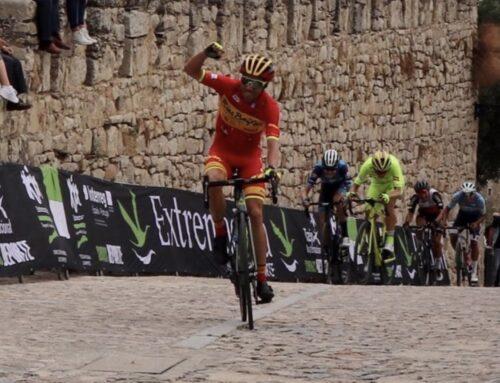 DEPORTES – Benjamín Prades vence en Trujillo y se enfunda el maillot amarillo de la Vuelta Ciclita a Extremadura