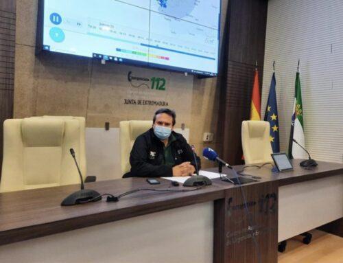 ULTIMA HORA – CLIMATOLOGÍA / CORTES DE CARRETERA – Lo más severo del frente de lluvias ya está pasando en Extremadura, sin daños personales y con cortes de carreteras