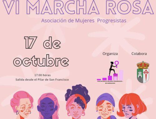 HORNACHOS – Este domingo la Asociación de Mujeres Progresistas llevará a cabo la VI Marcha Rosa.