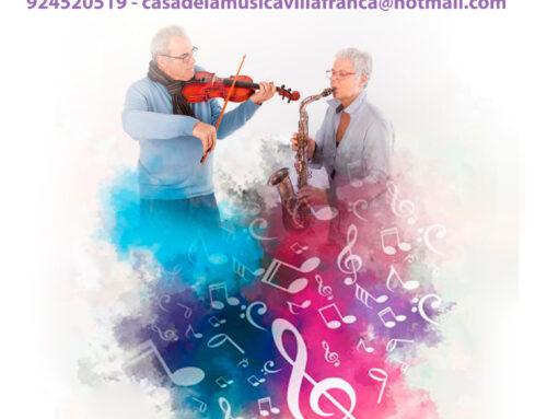 VILLAFRANCA DE LOS BARROS – La Escuela Municipal de Música pone en marcha una nueva actividad de Música para los Mayores
