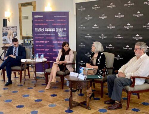 IGUALDAD – Gil Rosiña destaca que Extremadura es la primera comunidad autónoma que establece una colaboración con el Fondo de Becas Soledad Cazorla Prieto para la lucha contra la violencia de género